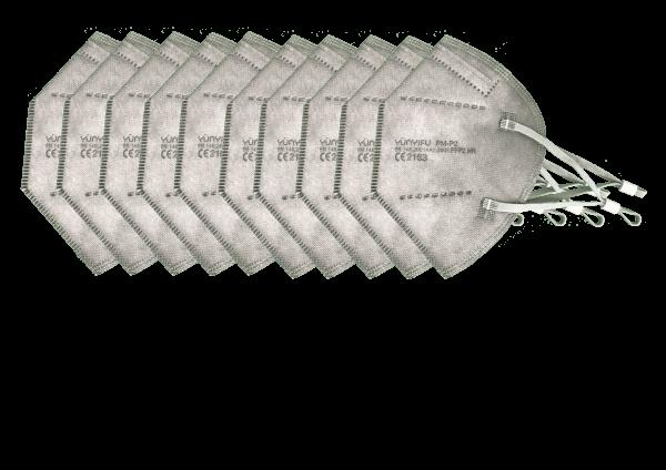 FFP2 - 10er Pack Grau