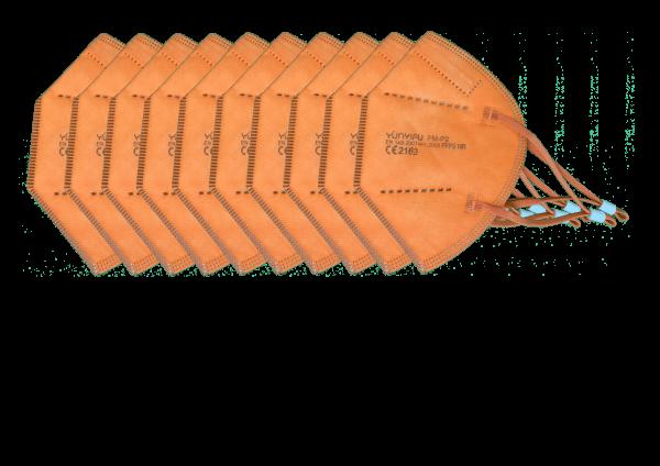 FFP2 - 10er Pack Orange