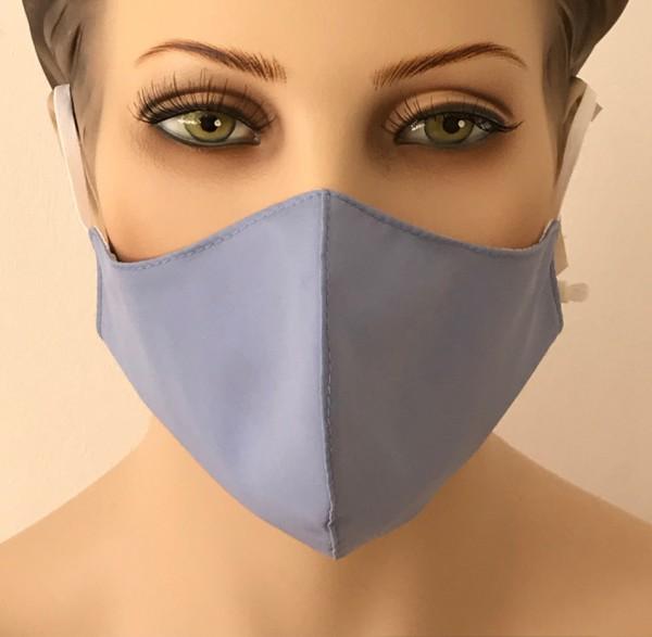 Premium Mund-Nasen-Schutz - Hellblau